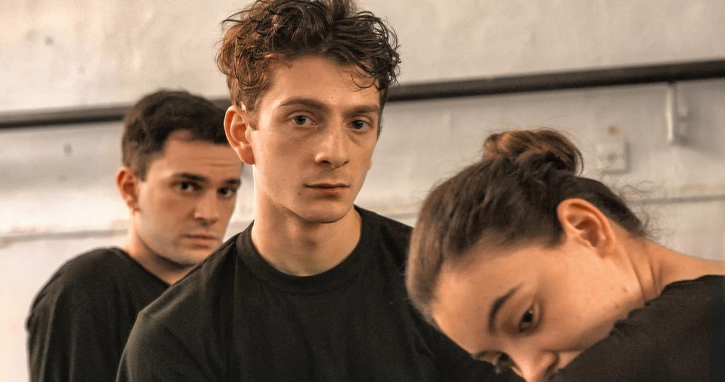 merab in the dance studio sat between Irakli and Mary