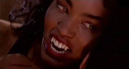 A movie still of Angela Bassett as Detective Rita Veder, from the 1995 film Vampire in Brooklyn.