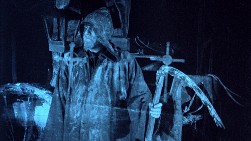 A transparent grim reaper in The Phantom Carriage.