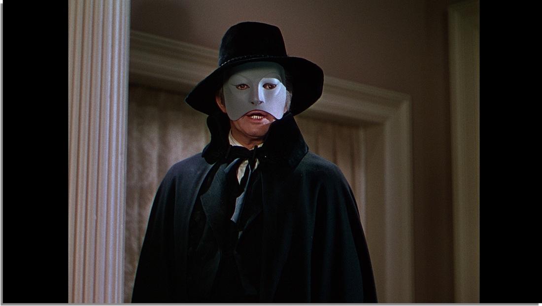 Close Up of The Phantom of the Opera
