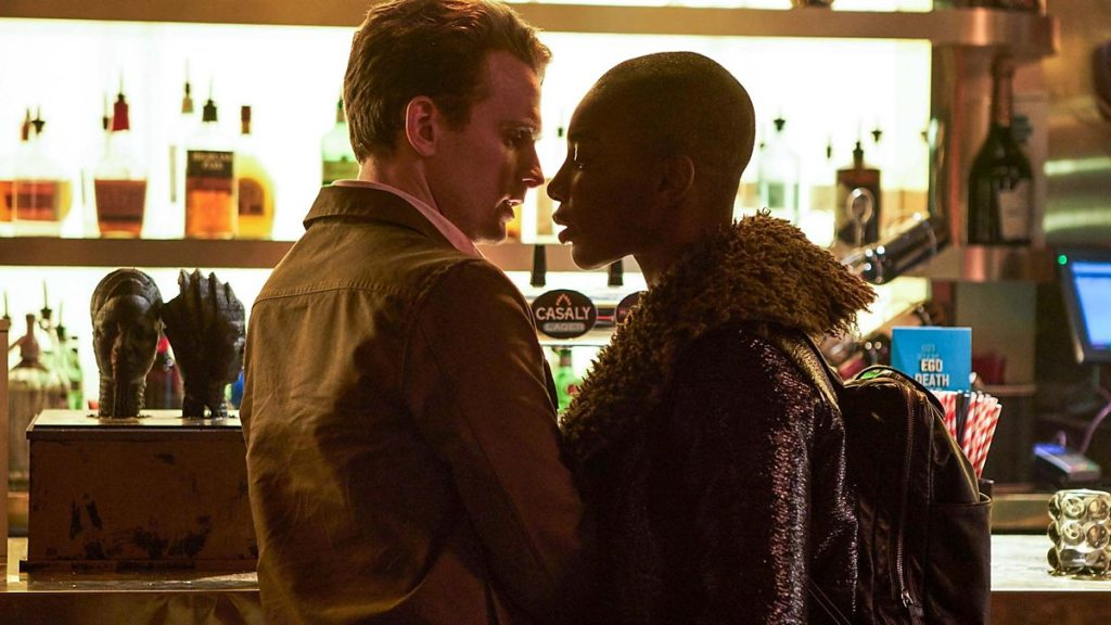 Arabella (Michaela Coel) confronts her abuser.